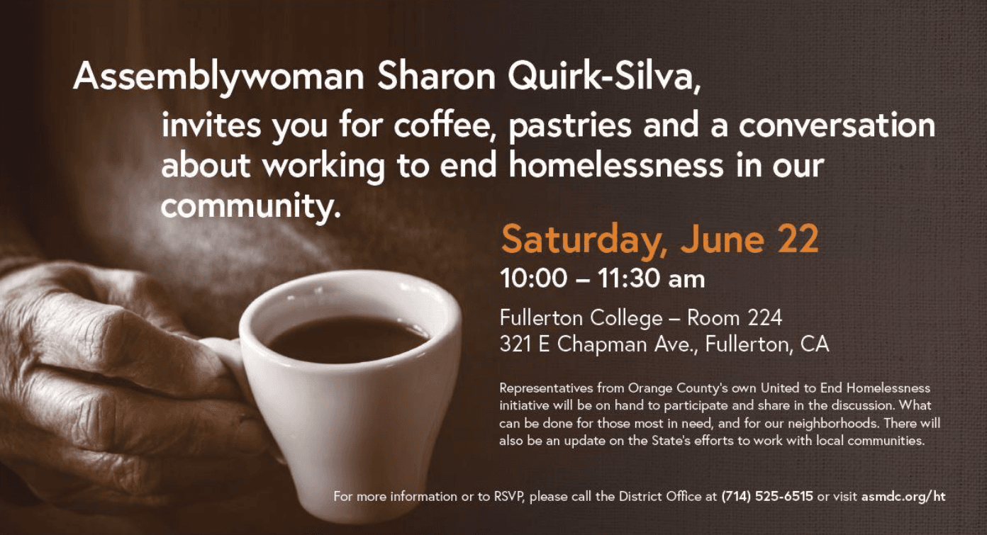 ASM Quirk-Silva Homelessness 101 event - June 2019