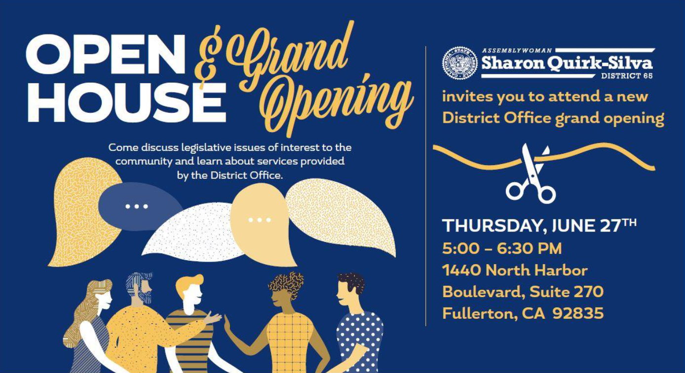 ASM Quirk-Silva District Office Open House - June 2019