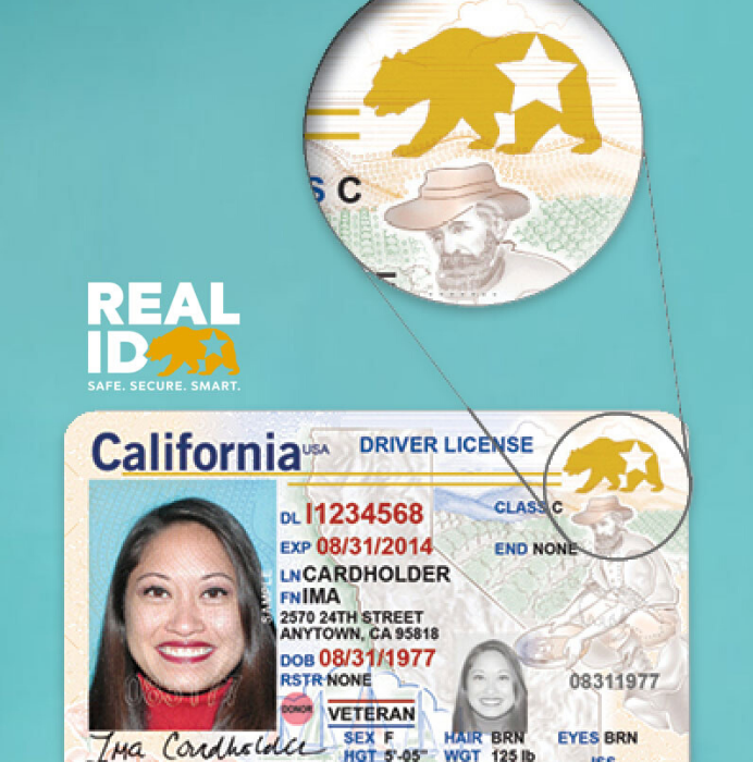 California REAL ID logo