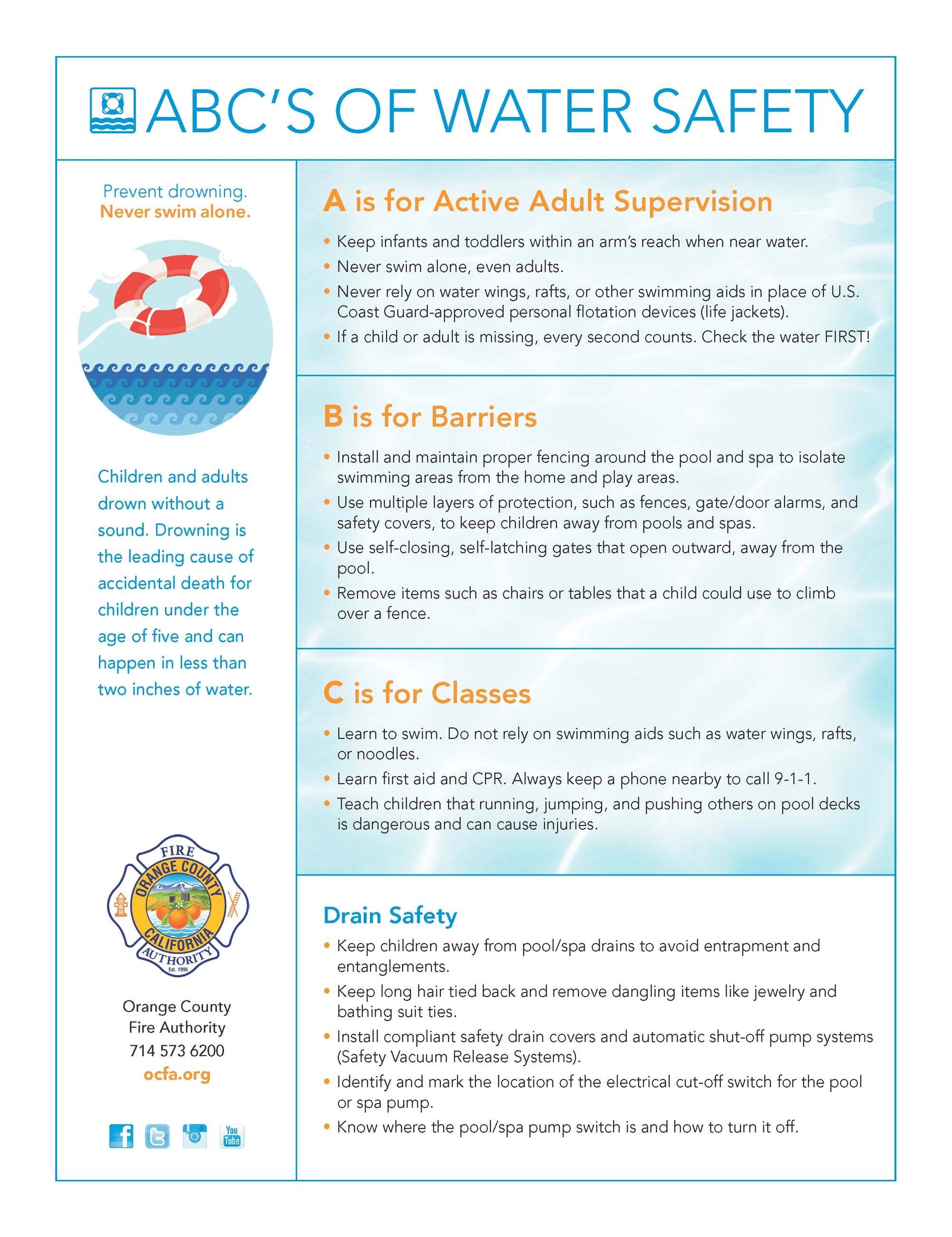 OCFA EN_ABCs of Water Safety