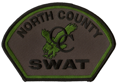 North County SWAT Patch